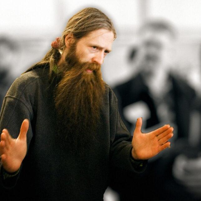 Aubrey de Grey photo illo