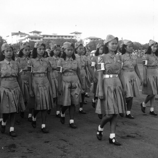 WWII first aid nurses in the Philippines filipinx