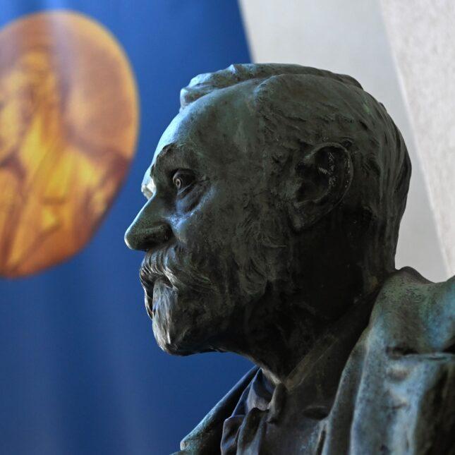 bust of Alfred Nobel