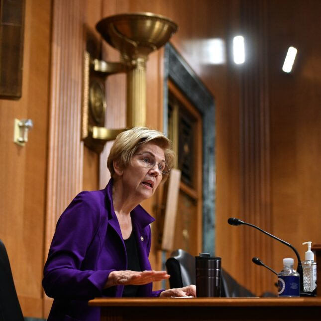 Elizabeth Warren on over-the-counter hearing aids, health lobbying, and the FDA's independence